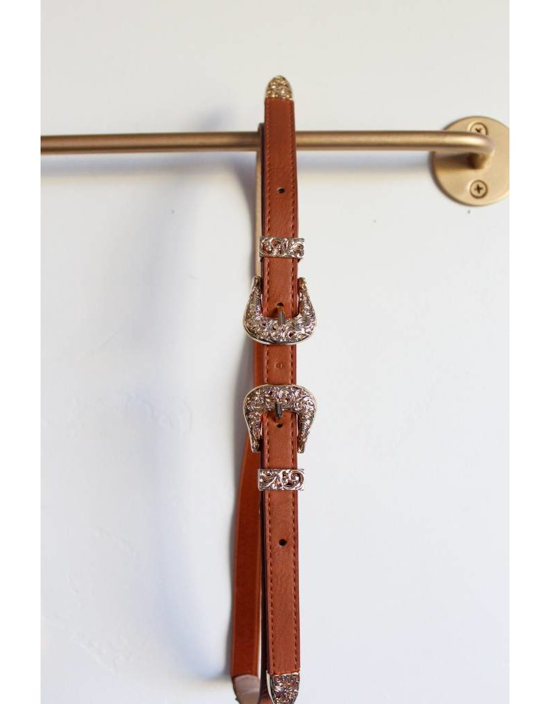 2642 double buckle belt