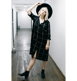 knot sisters peterson shirt dress