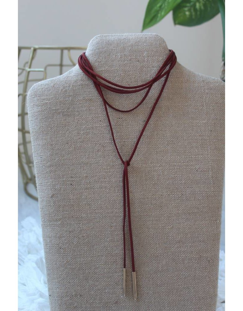 2898 wrap necklace
