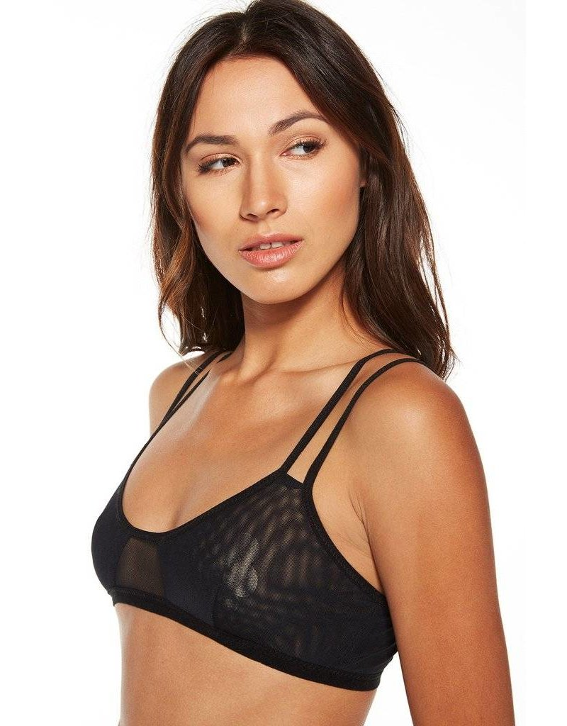 chaser chaser double panel bralette