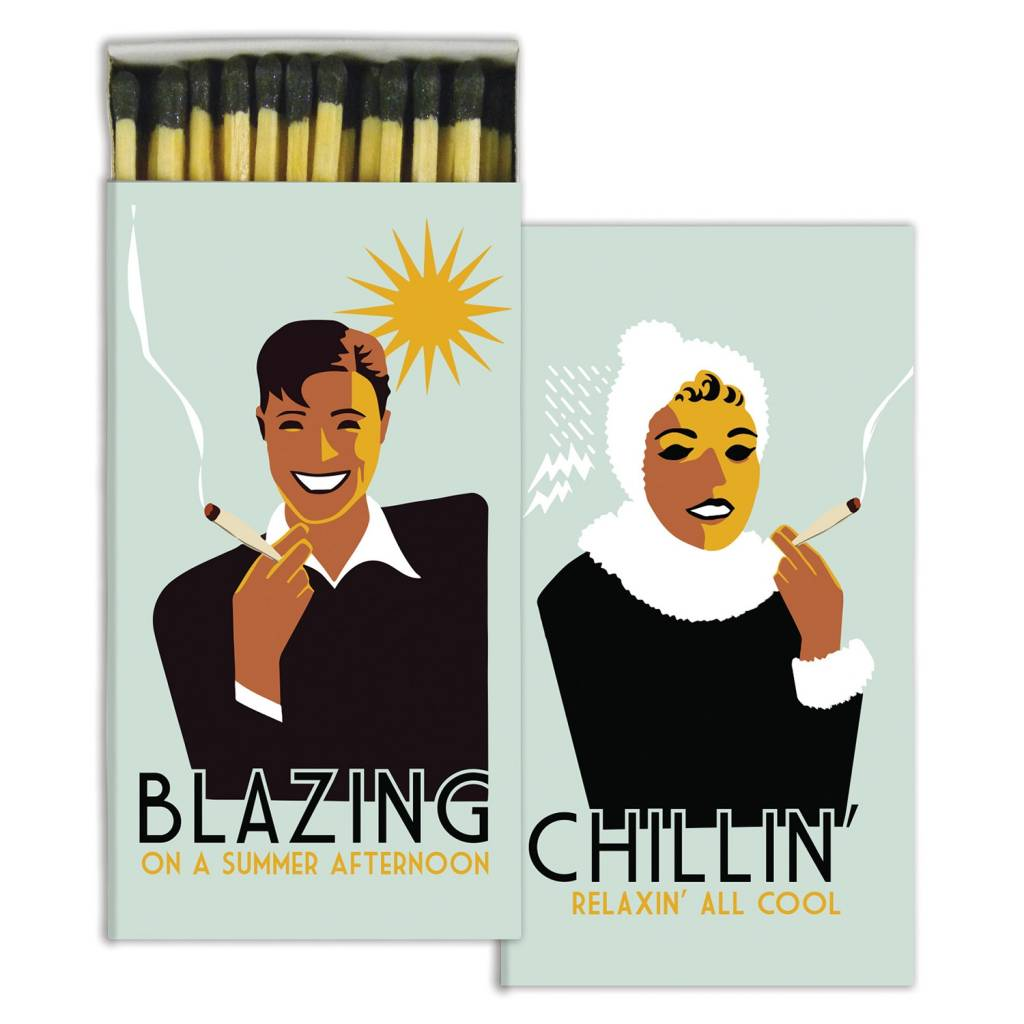 homart blazing and chillin' matches