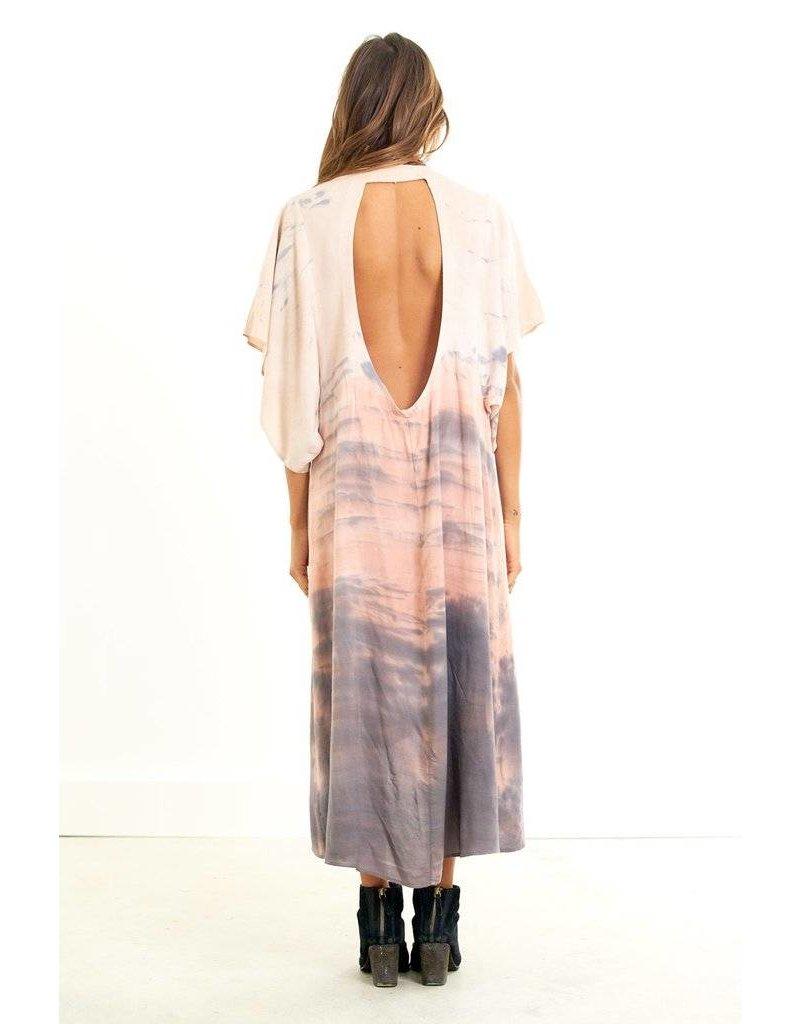 saltwater luxe saltwater luxe festival kimono dip dye