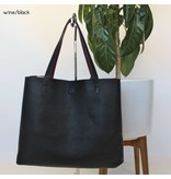 london reversible tote