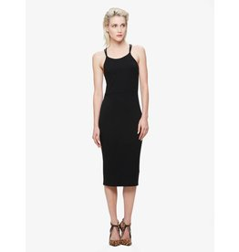 obey joan strap back dress