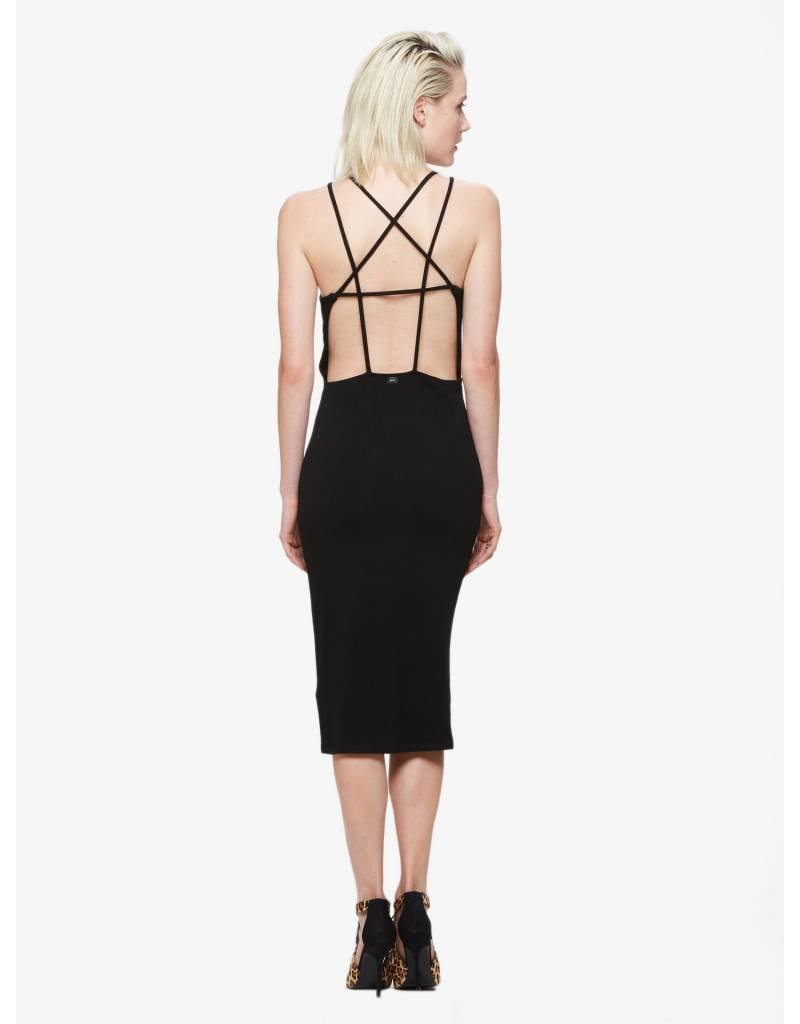 obey obey joan strap back dress