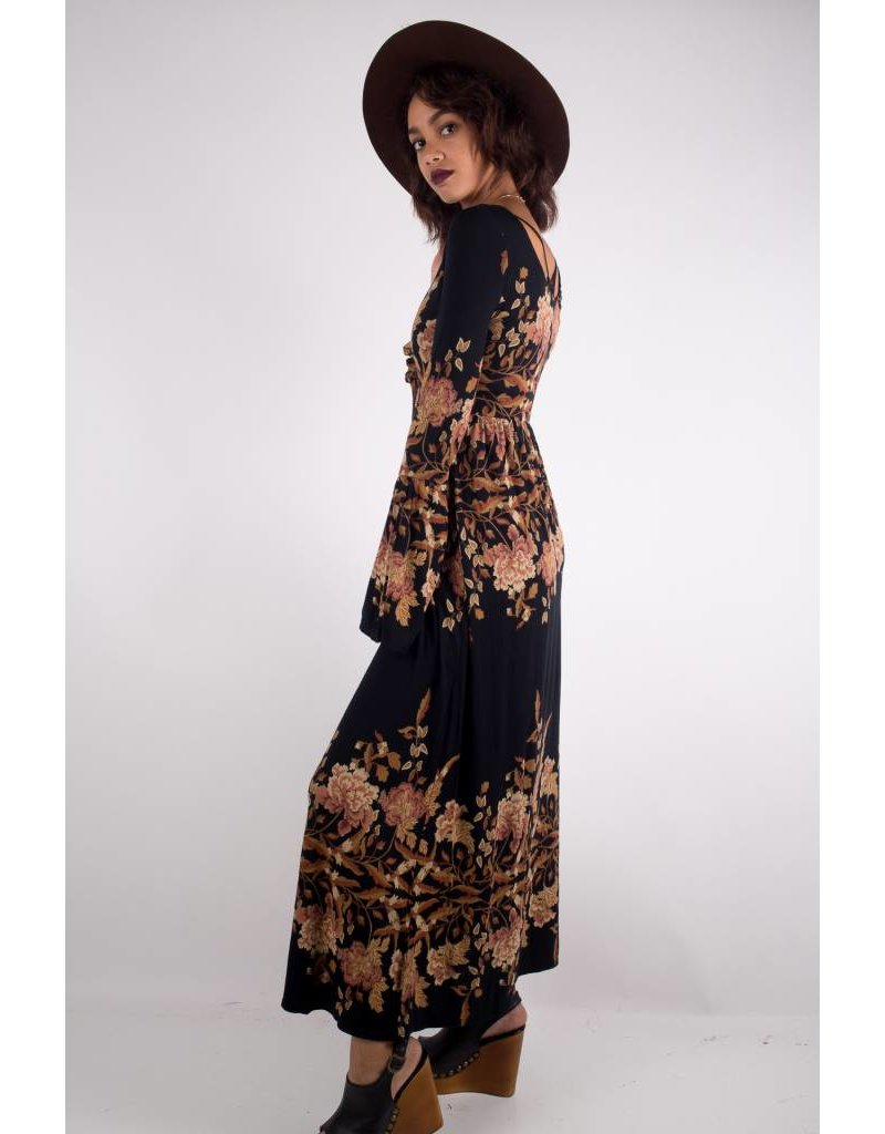 free people free people midnight garden midi