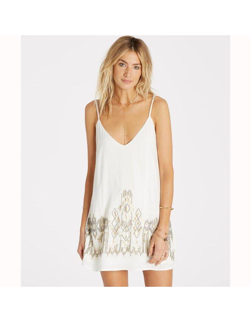 billabong billabong shine on slip dress