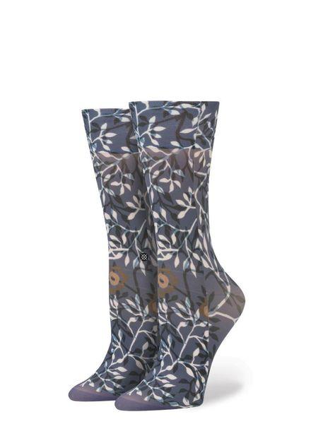 stance blue leaf socks