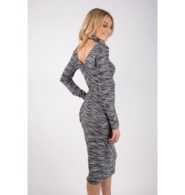 obey zoey cut out dress