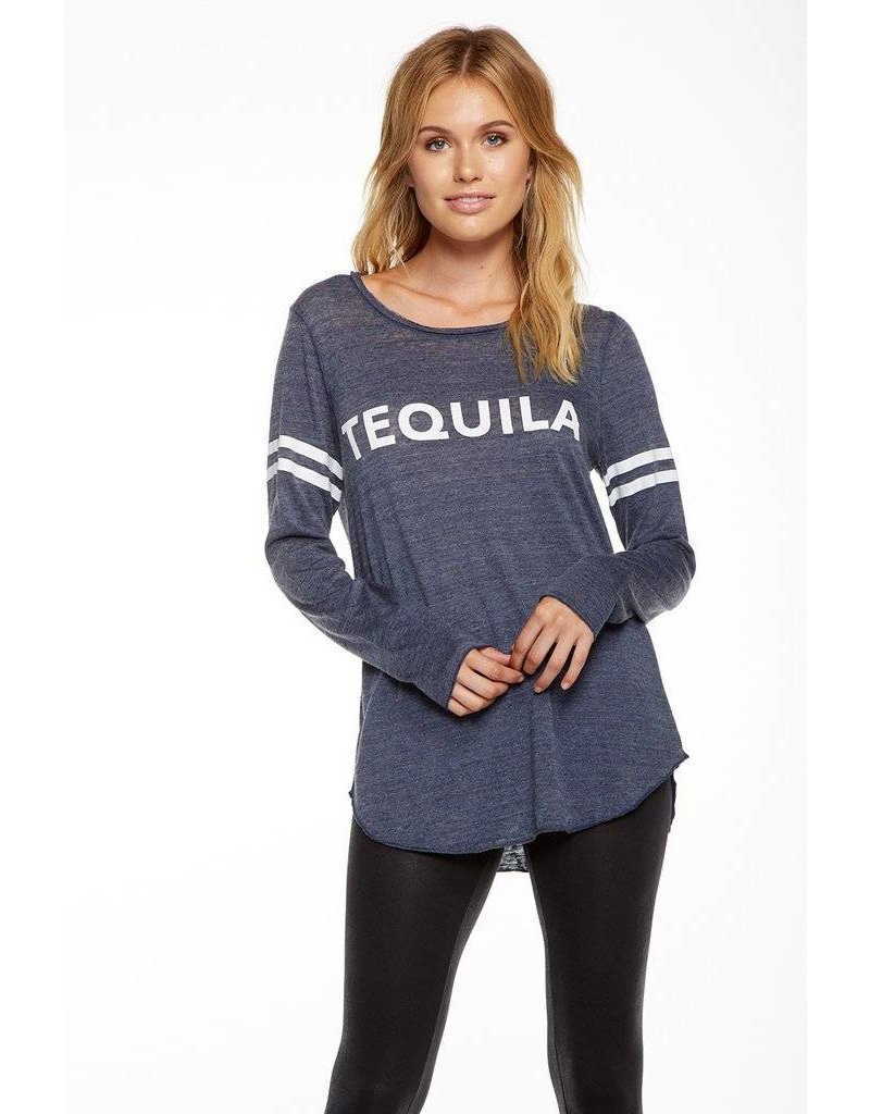 chaser chaser tequila l/s crew neck