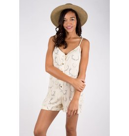 Boys + Arrows feelin' floozy romper