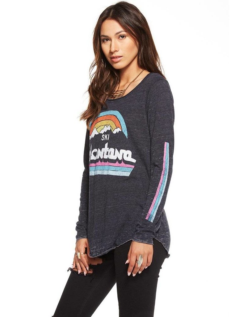 chaser chaser montana l/s tee