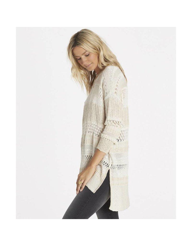 billabong billabong wandering wonderland sweater