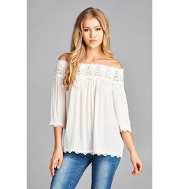 lexy off the shoulder top