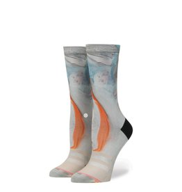 stance morning marble crew socks
