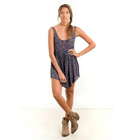 saltwater luxe showdown mini dress