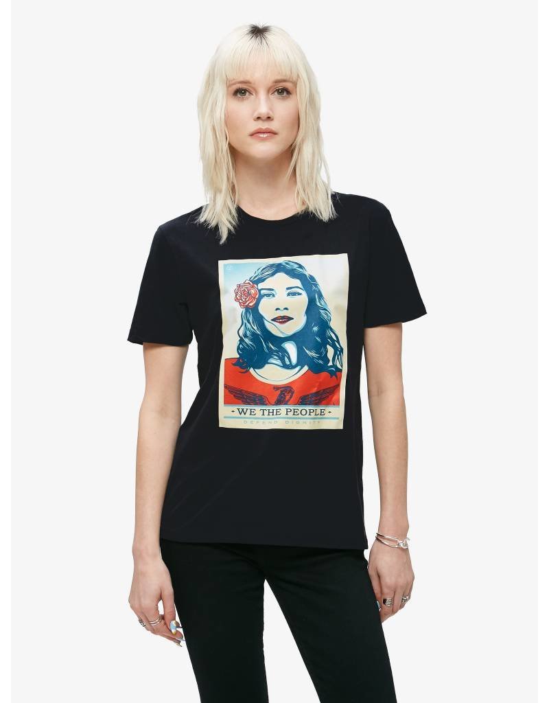 obey obey defend dignity tee
