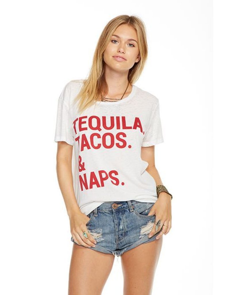 chaser chaser tequila tacos & naps tee