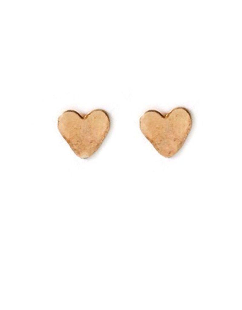 mimi & lu mimi & lu mini heart studs