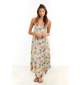 saltwater luxe sunset maxi floral