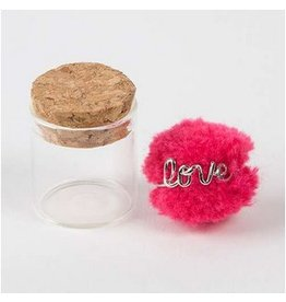 natural life natural life love wire ring hot pink