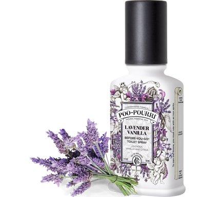 poo pourri poo pourri lavender vanilla 8oz custom bottle