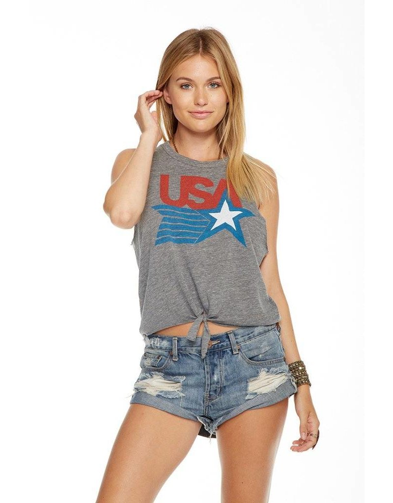 chaser chaser usa tie front tank