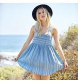 saltwater luxe saltwater luxe showdown mini dress