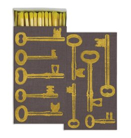 keys gold foil matches