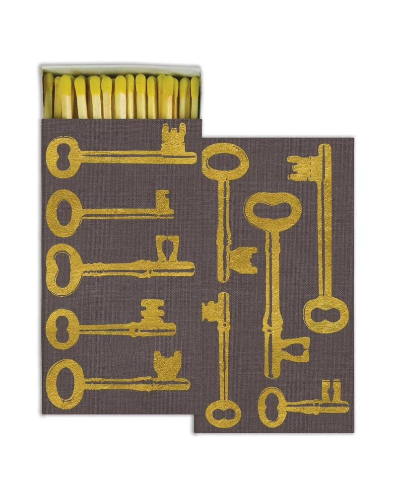 homart homart keys gold foil matches