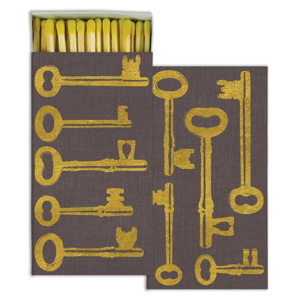 homart homart keys gold foil matches