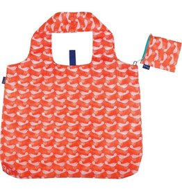 bird orange blu bag