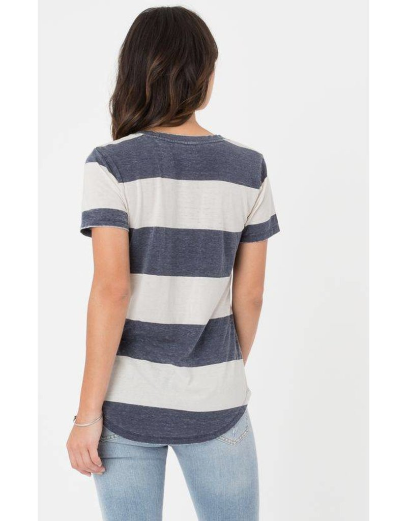z supply venice stripe tee