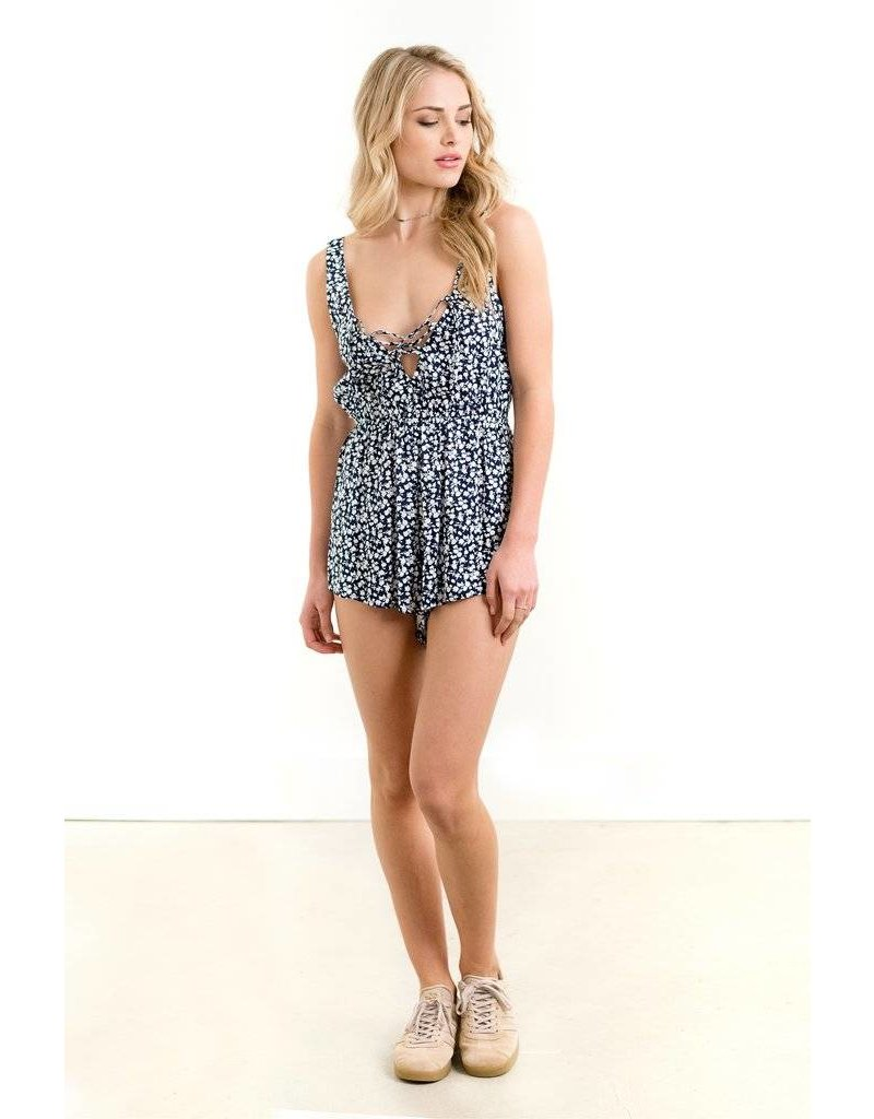 saltwater luxe saltwater luxe live it up ditsy romper