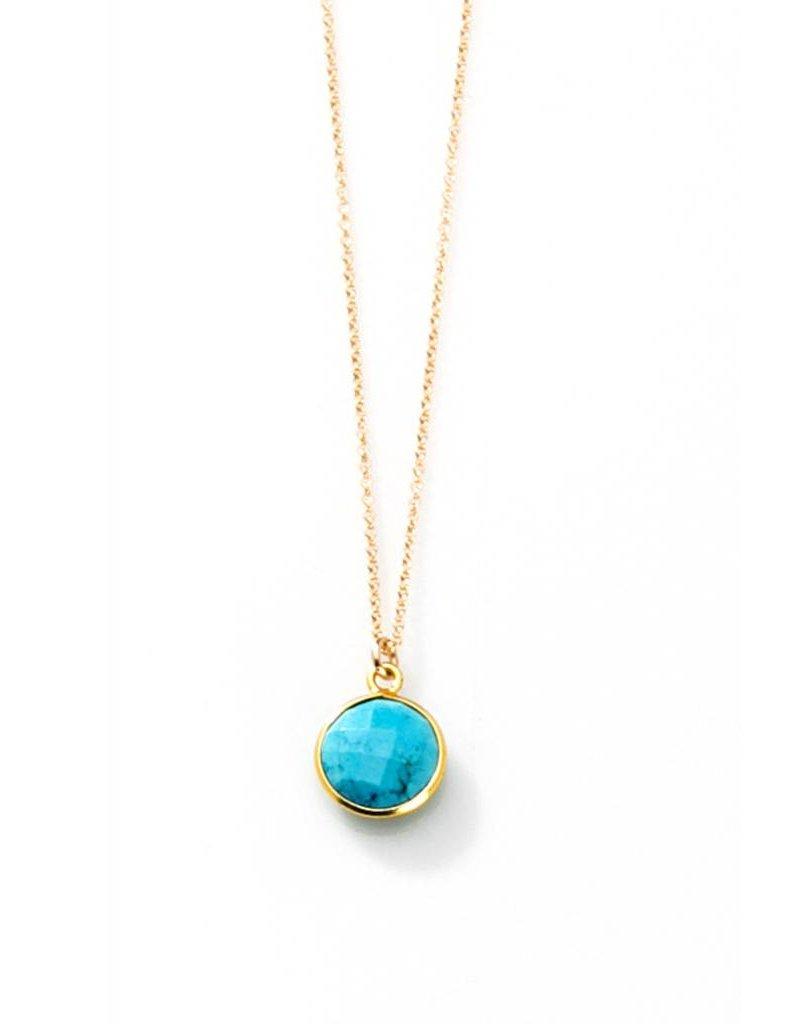 joy dravecky joy dravecky bezel stone necklace