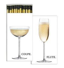 homart champagne flute & coupe matches
