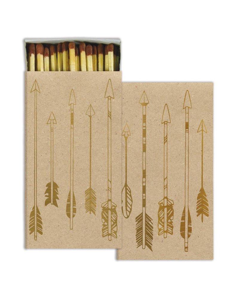 homart homart arrows gold foil matches