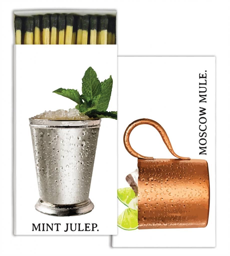 homart homart moscow mule & mint julep matches