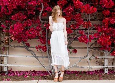 dresses in bloom