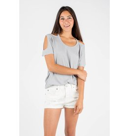 chaser chaser deconstructed dolman tee