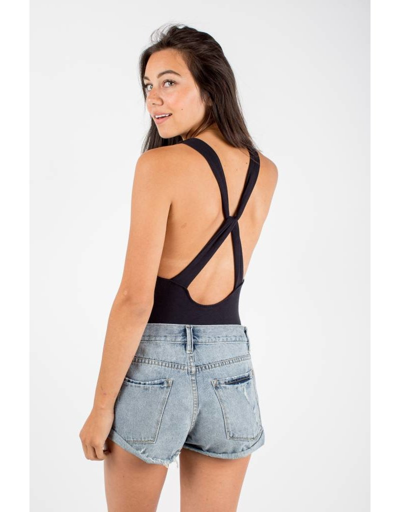 free people free people up and around bodysuit