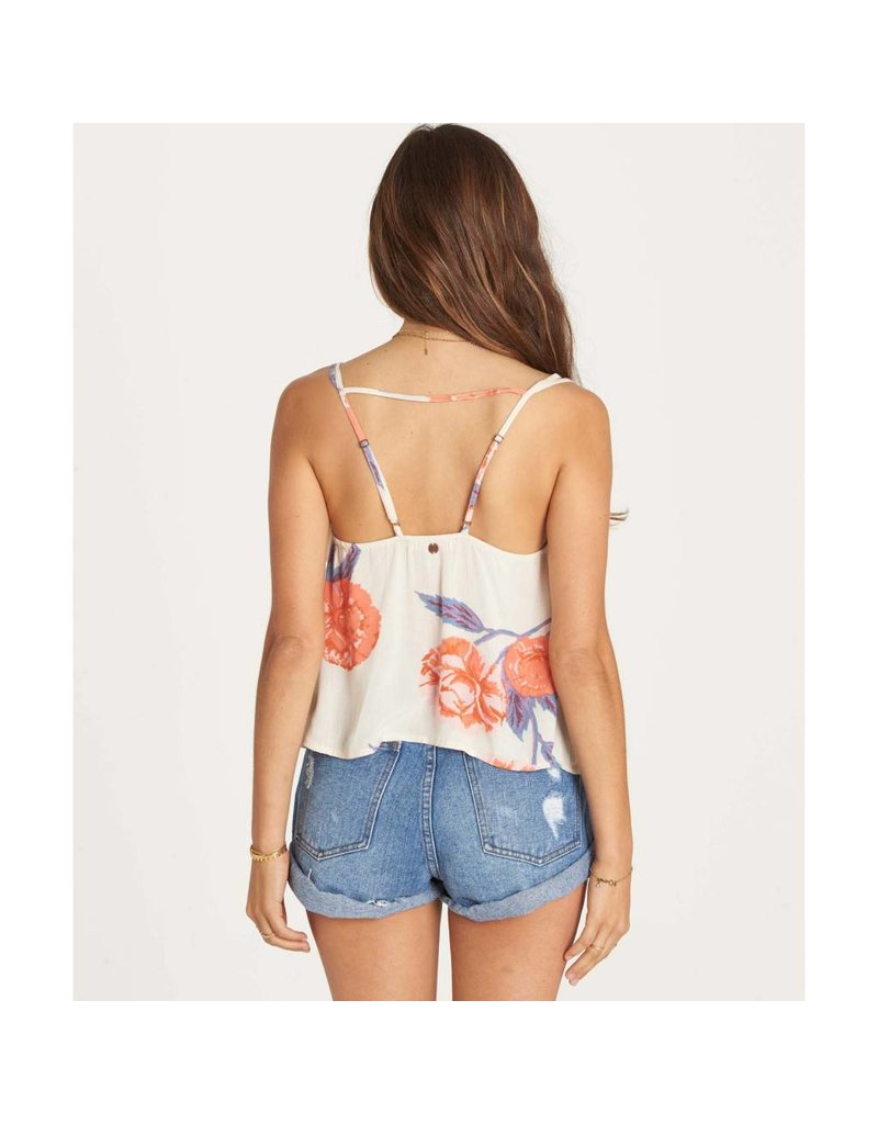 billabong billabong ruffled feather tank