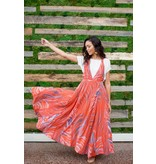 free people free people a thousand kisses maxi