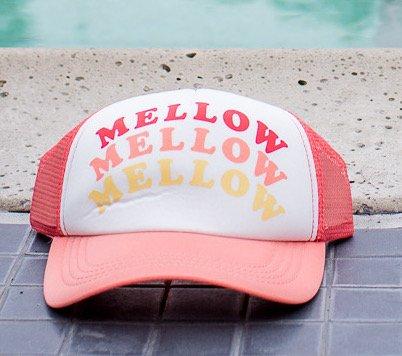 billabong billabong across waves mellow hat