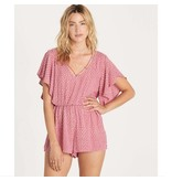 billabong billabong strap up romper
