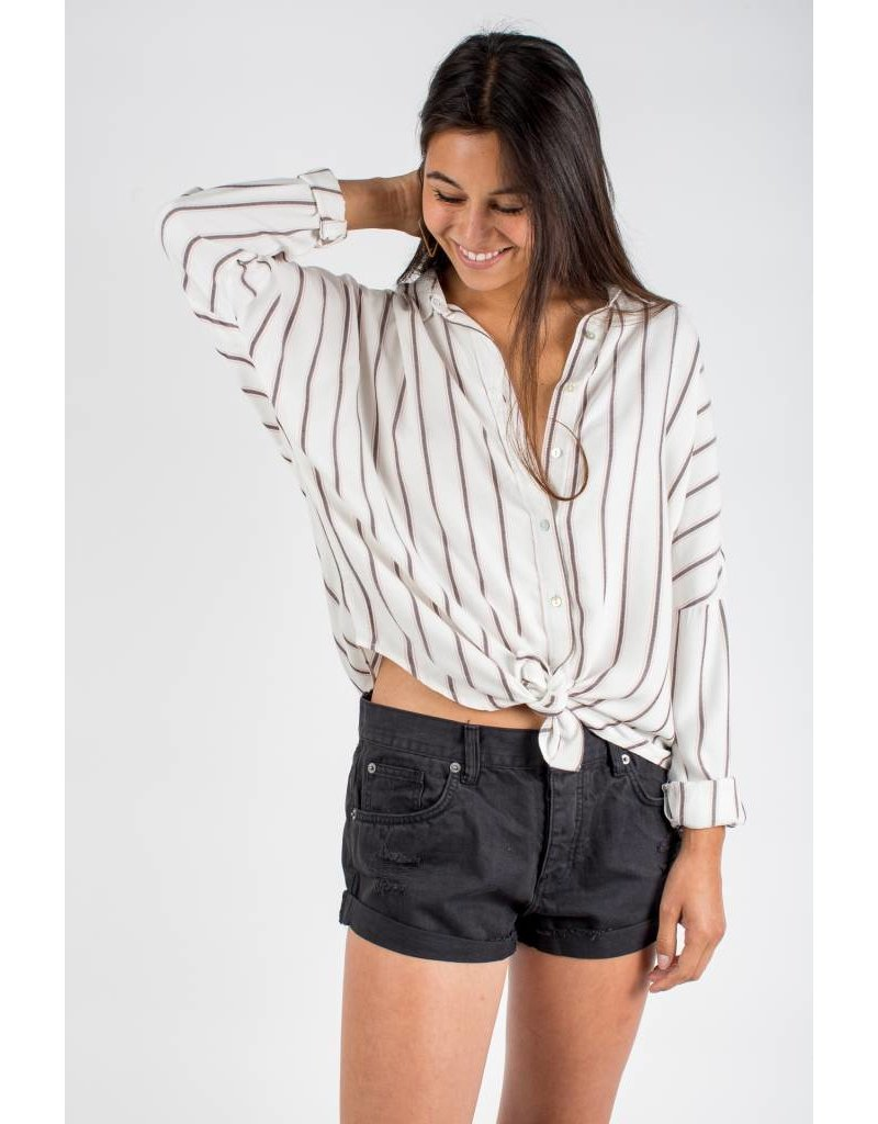 knot sisters knot sisters mary button up top