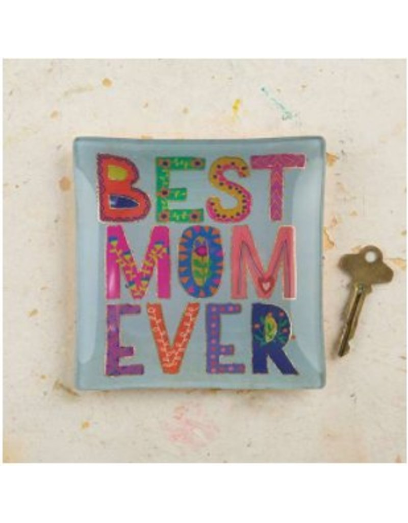 natural life natural life best mom glass tray