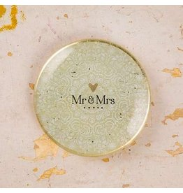 natural life glass tray mr mrs
