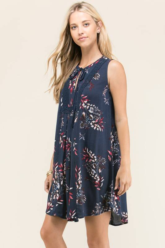 staccato presley dress