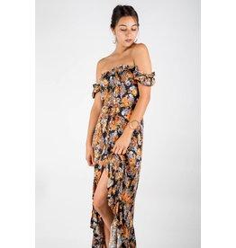 olivaceous eliza dress